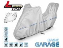 Покривало Kegel серија Mobile големина L тип кутија сиво за мотоциклет