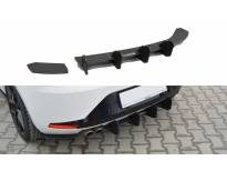 Добавка Maxton Design за дифузер на заден тунинг браник за SEAT Leon III FR 2012-2016, црн мат
