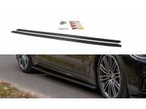 Добавки за прагове тип M-pack за BMW серия 5 G30/ G31 след 2017 година, визия лак