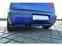 Добавка Maxton Design за задна тунинг броня за Seat Ibiza MK2 Cupra 1999-2002, черен мат