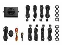 Паркинг систем ОЕМ со звучна сигнализација со 8 црни СЕНЗОРИ