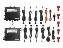 Паркинг систем Parkmatic со звучна сигнализација со 8 СЕНЗОРИ црни