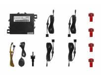 Парктроник система Parkmatic със звукова сигнализация с 4 датчика черни