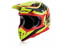 Крос кацига Acerbis Impact 3.0 (red/yellow)