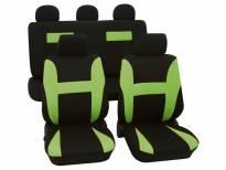 Навлаки за седишта Petex Eco-Class модел Neon од 11 дела, зелена
