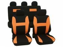 Навлаки за седишта Petex Eco-Class модел Neon од 11 дела, оранжева