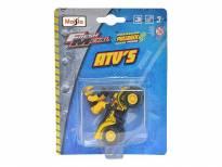 Играчка Maisto Fresh ATV жълт Hornet с моторист
