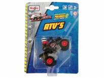 Играчка Maisto Fresh ATV црно со моторист