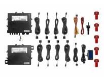 Паркинг систем Parkmatic со LCD дисплеј со 8 СЕНЗОРИ црни