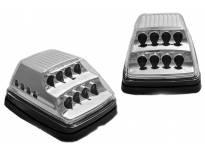 LED странични жмигавци за Mercedes G класа W463 1990-2012 година - хром основа