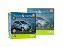 Паркинг систем Valeo Beep&Park™ со звучна сигнализација со 4 црни предни СЕНЗОРИ