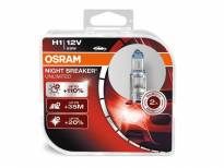 комплет 2 бр. халогенски сијалици Osram H1 Night Breaker Unlimited 12V, 55W, P14.5s