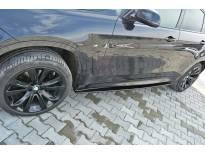 Добавки за прагове тип M-pack за BMW X6 F16 след 2014 година, визия лак