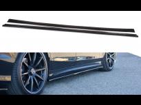 Добавки за прагове за Mercedes S класа W222 AMG-line 2013-2017, визия лак