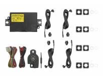 Парктроник система Active park със звукова сигнализация с 4 датчика черни