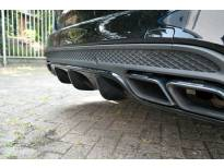 Дифузьор Maxton Design за задна AMG броня на Mercedes C63 комби S205 2015-2018, цвят карбон