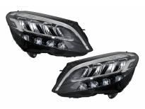 Комплект LED фарове за Mercedes C класа W205, S205 след 2019 година, ляв и десен