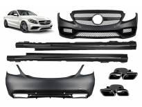 AMG пакет тип C63 за Mercedes C класа W205 по 2014 година