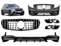 AMG пакет тип GLC63 за Mercedes GLC X253 после 2015 година