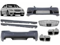 AMG пакет тип S63 за Mercerdes S класа W221 2006-2013 дълга база