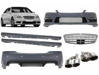 AMG пакет тип S65 за Mercerdes S класа W221 2006-2013 долга база