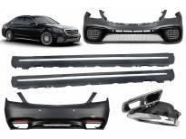 AMG пакет тип S65 за Mercedes S класа W222 после 2017 година long(долга) верзија