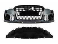 предна RS6 браник за Audi A6 C7 4G 2011-2015 година со PDC/ со Капачки за прскалки