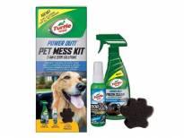 Комплект Turtle Wax Pet Mess Kit за премахване на петна от животни