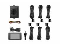 Парктроник система с 2,5 инча двоен LCD дисплей с 6 црни Сензора