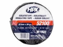 PVC изолациска лента HPX тип VDE 19mm/20m црна