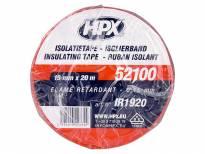 PVC изолациска лента HPX тип VDE 19mm/20m Црвена