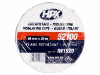 PVC изолациска лента HPX тип VDE 19mm/20m бела