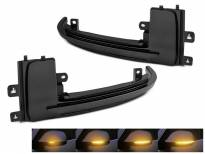 Тунинг LED жмигавци за странични огледала на Audi A3 2010-2012, A4 2010-2015, A5 2010-2016, RS5 2013-2015, S4 2010-2015, S5 2010-2016