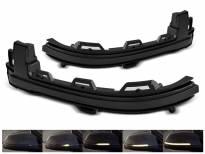 Тунинг LED жмигавци за странични огледала на BMW X3 F25 2014-2017, X4 F26 2014-2018, X5 F15 2013-2018, X6 F16 после 2014 година