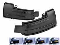 Тунинг LED жмигавци за странични огледала на Mercedes G класа W463 2012-2018, ML W166 2011-2015, R класа W251 2010-2017