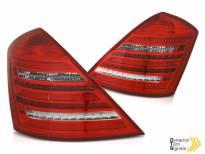 Комплект тунинг LED стопове за Mercedes S класа W221 2005-2009 дизайн тип W222, ляв и десен