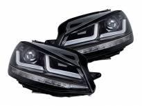 комплет LED фарови Osram LEDriving Black Edition за VW Golf VII 2012-2016, лев и десен