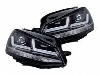 комплет LED фарови Osram LEDriving Chrome Edition за VW Golf VII 2012-2016, лев и десен