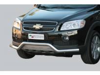 Ролбар Misutonida по цялата дължина на бронята за Chevrolet Captiva след 2006 година