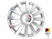 """Декоративни раткапни PETEX 15"""" Spyder pro silver, 4 бројки"""