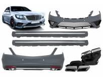AMG пакет тип S63 за Mercedes S класа W222 2013-2017 година long(долга) верзија