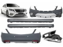 AMG пакет тип S65 за Mercedes S класа W222 2013=> с PDC долга база