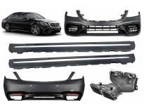 AMG пакет тип S63 за Mercedes S класа W222 после 2017 година long(долга) верзија