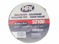 PVC изолационна лента HPX тип VDE 19mm/10m црна