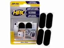 Велкро подложка ZIP FIX на HPX 20mm/50mm црна