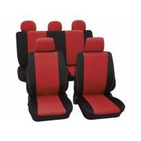 Навлаки за седишта Petex Eco-Class модел Borneo од 11 дела, Црвена