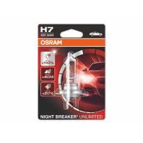 Халогенна сијалица Osram H7 Night Breaker Unlimited 12V, 55W, PX26d, 1 број