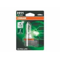 Халогенна сијалица Osram H11 UltraLife 12V, 55W, PGJ19-2, 1 број