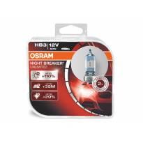 комплет 2 бројки халогенни сијалици Osram HB3 Night Breaker Unlimited 12V, 60W, P20d