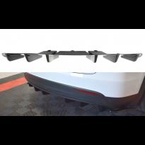 Добавка за дифузьор за Tesla Model X след 2015 година, визия лак